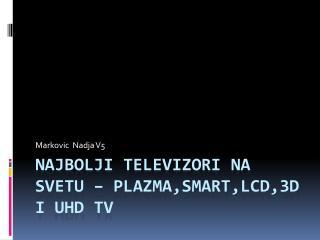 Najbolji televizori na svetu  – plazma,smart,lcd,3d I  uhd tv