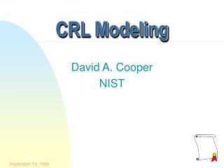 CRL Modeling