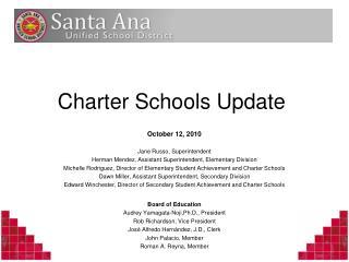Charter Schools Update