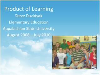 Product of Learning