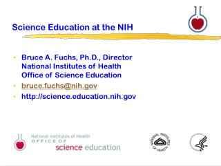 Science Education at the NIH