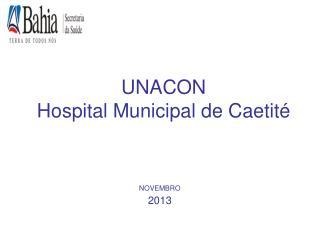 UNACON Hospital Municipal de Caetité