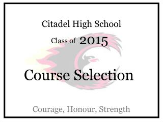 Citadel High School
