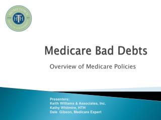 Medicare Bad Debts