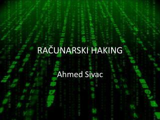 RAČUNARSKI HAKING