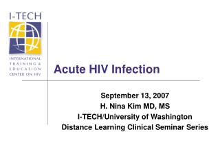 Acute HIV Infection