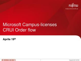 Microsoft Campus-licenses CRUI Order flow