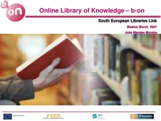Online Library of  Knowledge – b-on