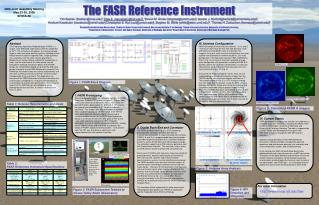 The FASR Reference Instrument