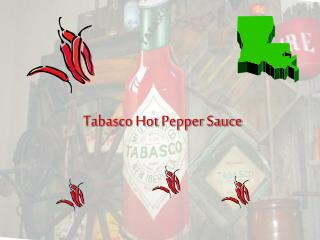 Tabasco Hot Pepper Sauce