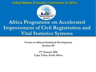 Africa Programme on Accelerated Improvement of Civil Registration and Vital Statistics Systems