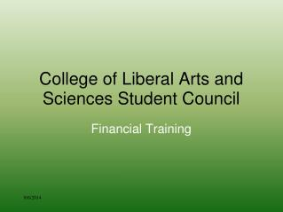 College of Liberal Arts and Sciences Student Council