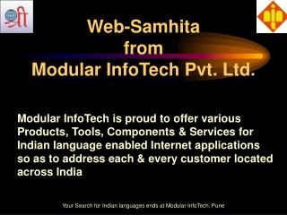 Web-Samhita  from  Modular InfoTech Pvt. Ltd.