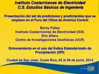 Instituto Costarricense de Electricidad