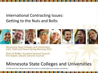 International Contracting Issues: Getting to the Nuts and Bolts