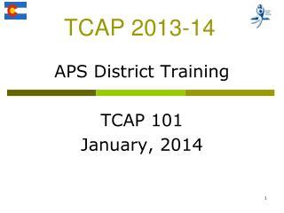 TCAP 2013-14