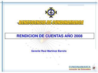 RENDICION DE CUENTAS A�O 2008