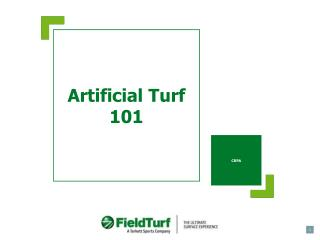 Artificial Turf 101