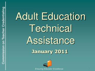 Adult Education Technical Assistance