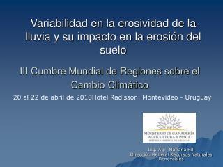 III Cumbre Mundial de Regiones sobre el Cambio Climático