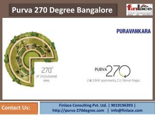 Purva 270 Degree Bangalore @ 9019196393 | CV Raman Nagar