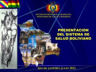 PRESENTACION DEL SISTEMA DE SALUD BOLIVIANO