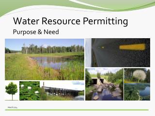 Water Resource Permitting