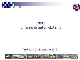 Tirrenia, 30/31 Gennaio 2010