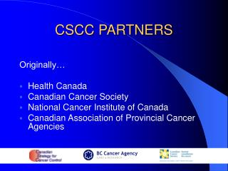 CSCC PARTNERS