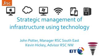 Strategic management of infrastructure using technology