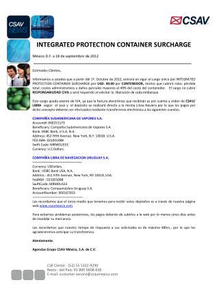 Call Center:  (52) 55 5322-9290 Resto : del País: 01 800 5608-636