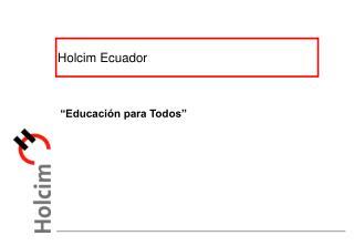 Holcim Ecuador
