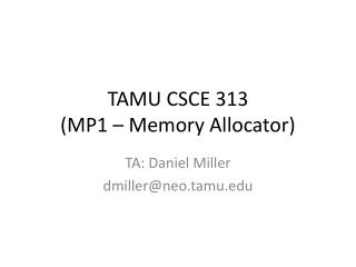 TAMU CSCE 313 (MP1 – Memory Allocator)