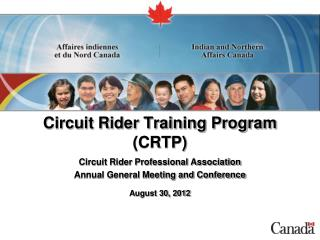 Circuit Rider Training Program (CRTP)