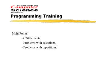 Programming Training