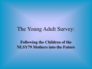 The Young Adult Survey: