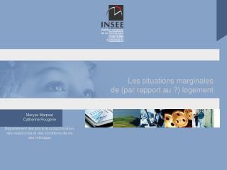 Le rapport du groupe SML sur les m thodes et sources statistiques publiques L expertise en cours sur le dispositif stati