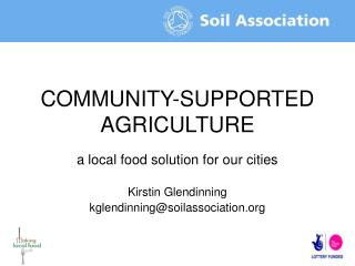 COMMUNITY-SUPPORTED AGRICULTURE