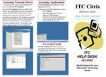 ITC HELP DESK 362-4540