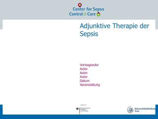 Adjunktive Therapie der Sepsis