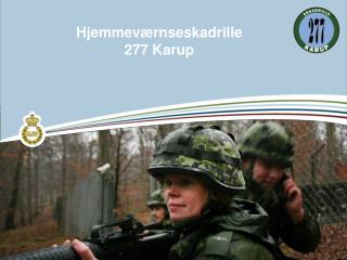 Hjemmev�rnseskadrille  277 Karup