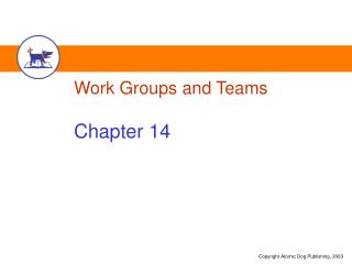 Work Groups and Teams