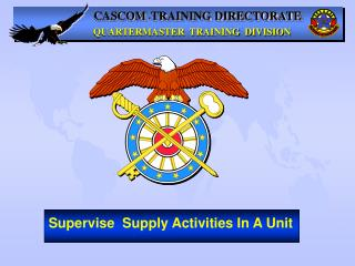 CASCOM  - TRAINING DIRECTORATE
