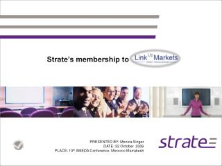 Strate's membership to