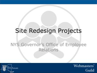 Site Redesign Projects