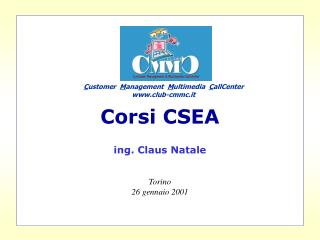 Corsi CSEA