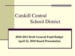 Catskill Central              School District