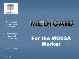 For the MOSSA Worker