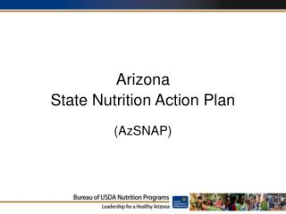 Arizona State Nutrition Action Plan