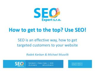 How to get to the top? Use SEO!